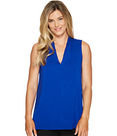 Vince Camuto - Sleeveless V-Neck Top w/ Center Front Seam