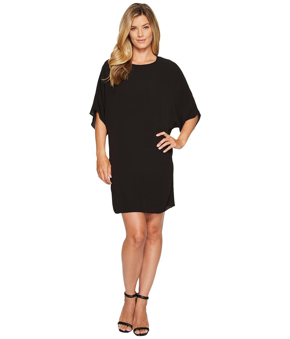 Vince Camuto Dolman Sleeve Dress (Rich Black) Women