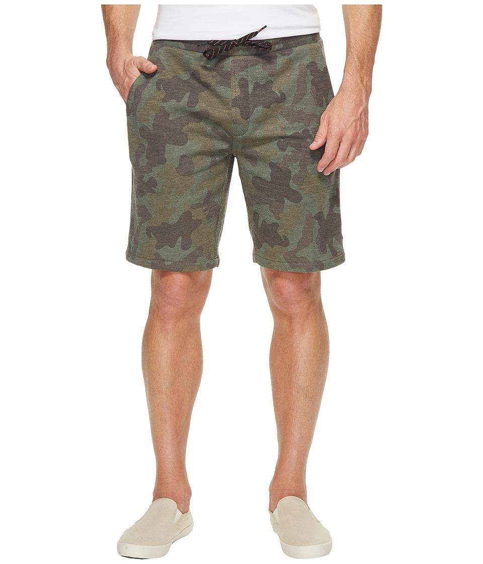 Rip Curl Destination Fleece Shorts (Camo) Men