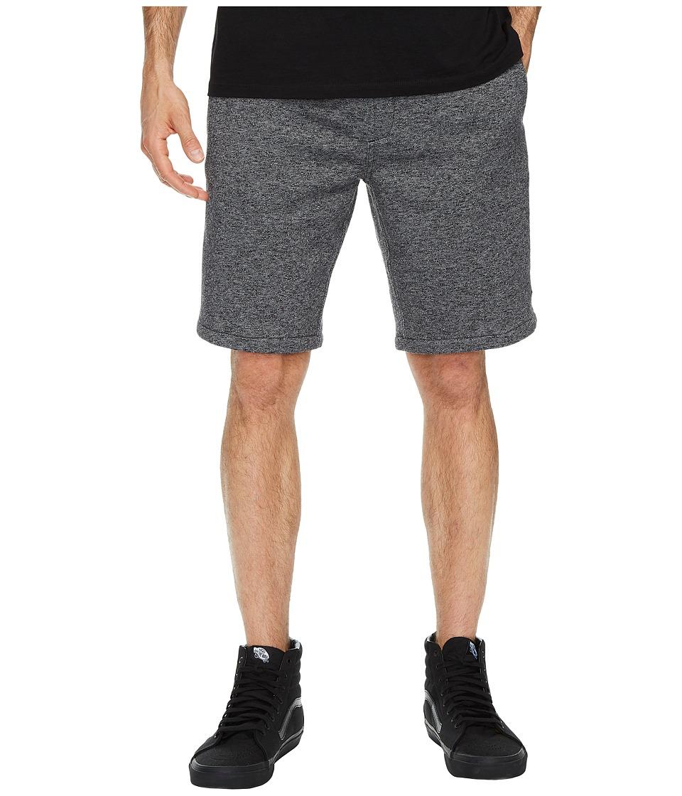 Rip Curl Destination Fleece Shorts (Black) Men