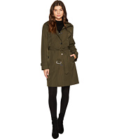 MICHAEL Michael Kors - Button Front Hooded Trench M723089C
