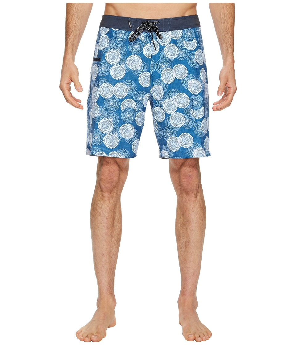 Rip Curl Mirage Cylinders Boardshorts (Blue) Men