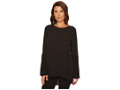 Vince Camuto Pleated Bell Sleeve High-Low Hem Blouse