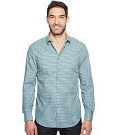 Perry Ellis - Space Dye Enlarged Stripe Shirt