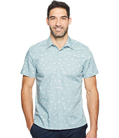 Perry Ellis - Short Sleeve Paisley Dot Shirt
