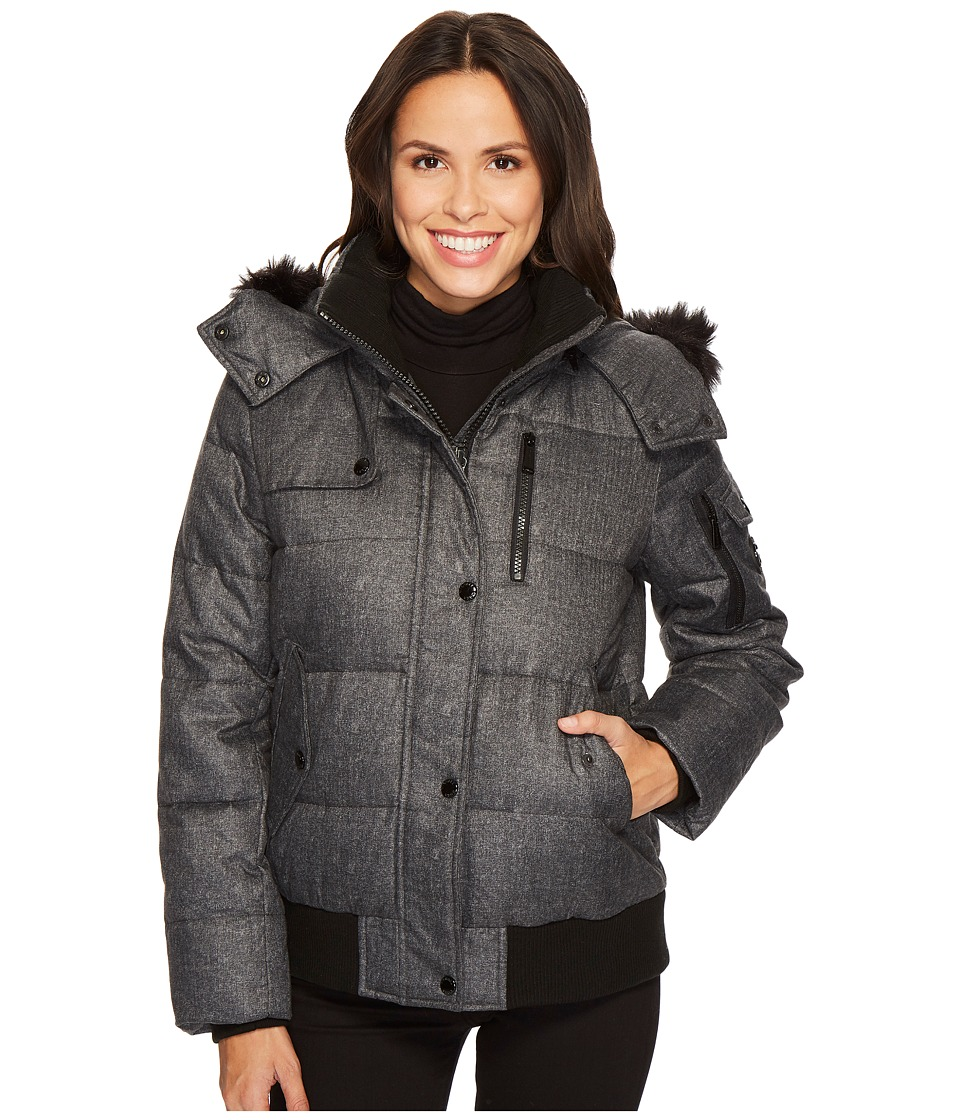 Michael Kors Down Bomber M821916C (Flannel) Women's Coat