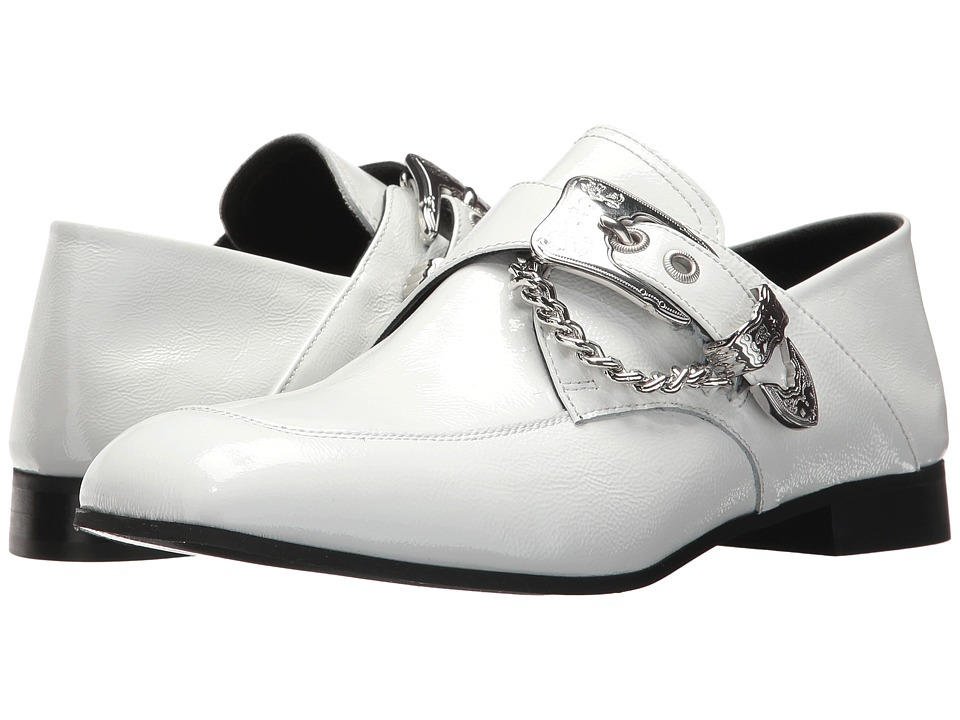 1960s Style Men's Clothing, 70s Men's Fashion McQ - Billy Loafer White Womens Shoes $525.00 AT vintagedancer.com