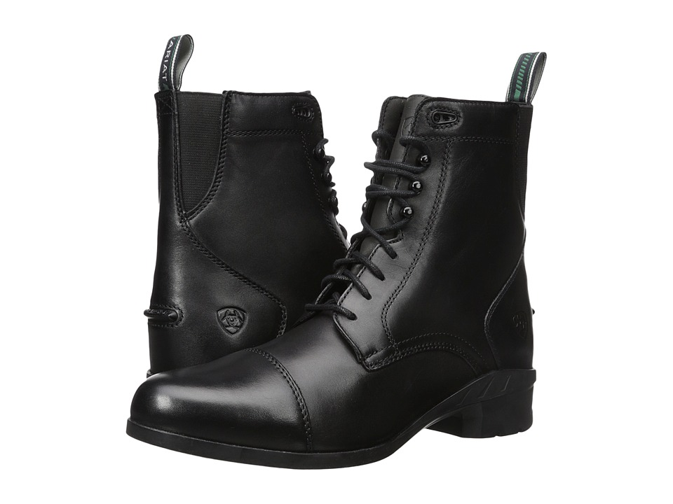 Ariat Heritage IV Paddock (Black) Women's Lace-up Boots