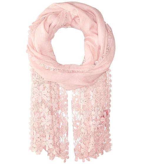 Betsey Johnson Lace Hem Day Wrap - Blush