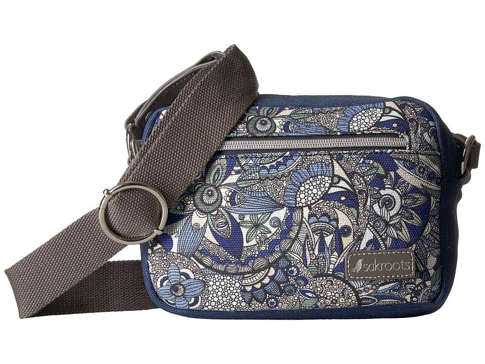 Sakroots Costa Camera Bag (Blue Steel Spirit Desert) Handbags