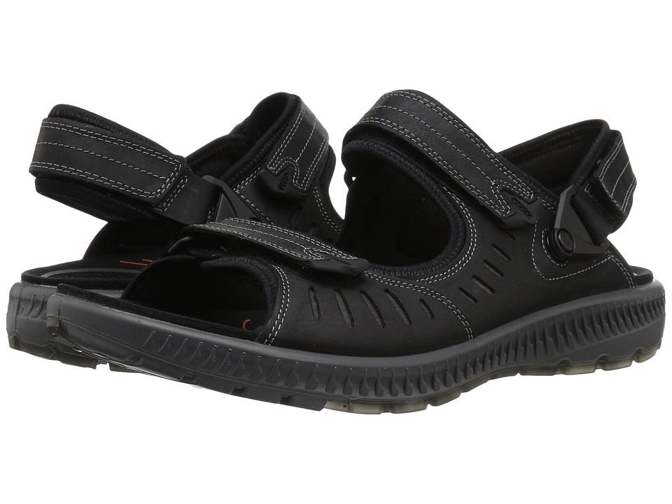 ECCO Sport - Terra 2S Sandal (Black) Men's Sandals