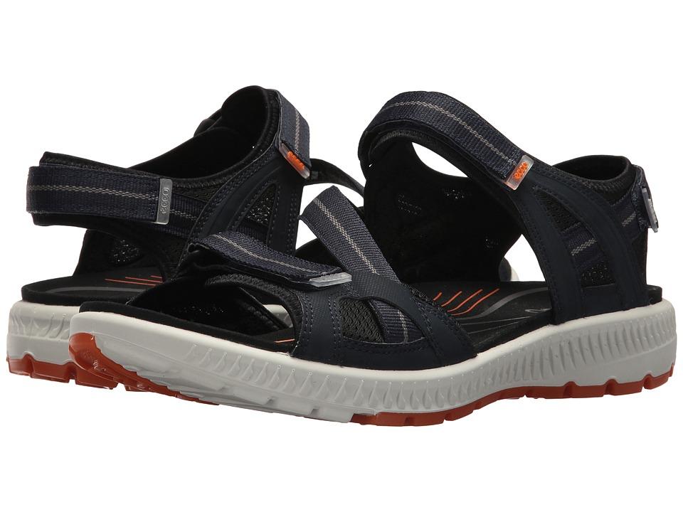 ECCO Sport - Terra 3S Sandal (True Navy/Orange) Men's Sandals