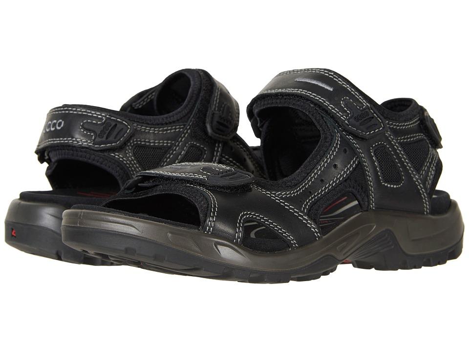 ECCO Sport - Yucatan Luxe (Black) Men's Sandals
