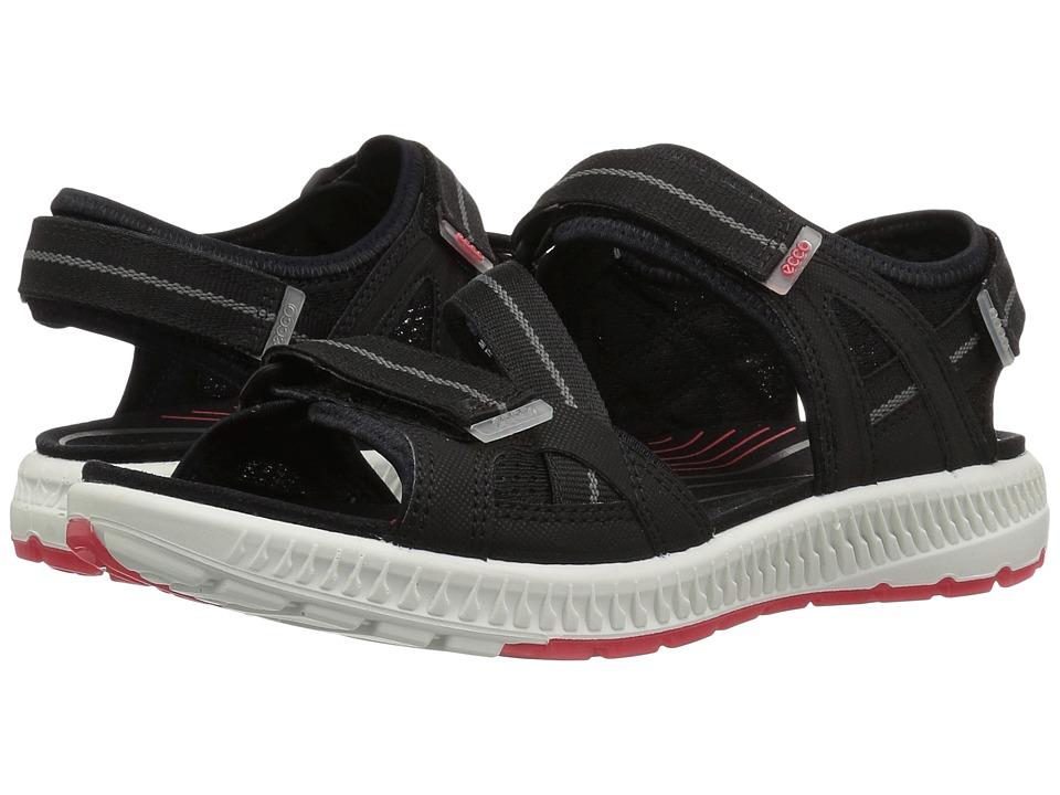 ECCO Sport Terra 3S Sandal (Black/Teaberry) Women