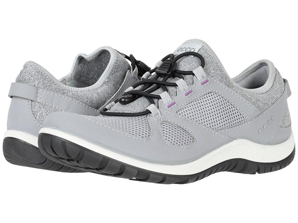 ECCO Sport Aspina Toggle (Silver Grey/Silver Grey) Women