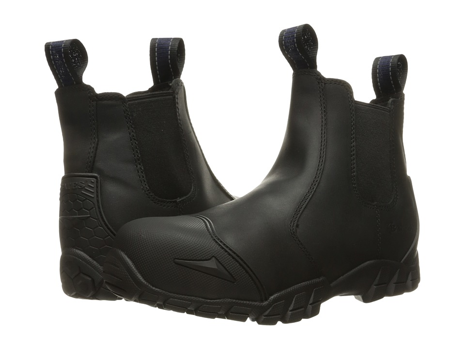 Bates Footwear Chelsea Composite Toe (Black) Men