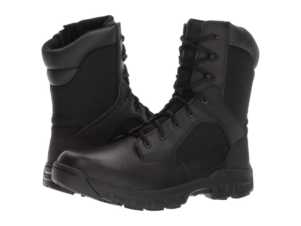Bates Footwear Code 6.2 8 Side Zip (Black) Men