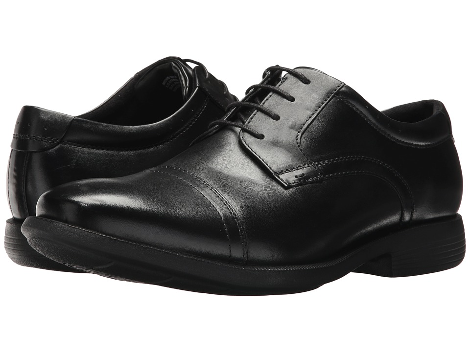 Nunn Bush Dixon Cap Toe Oxford (Black) Men