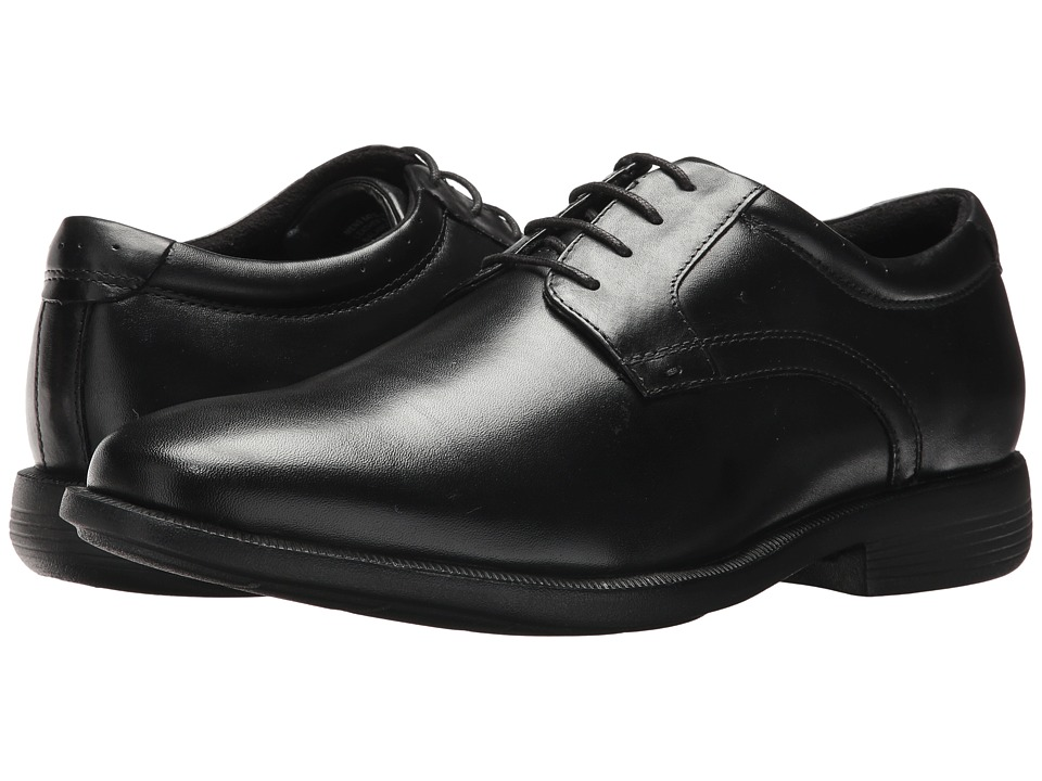Nunn Bush Devine Plain Toe Oxford (Black) Men