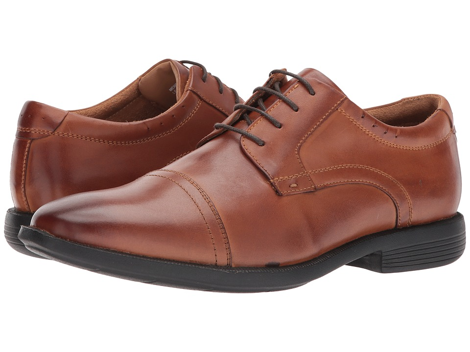 Nunn Bush Dixon Cap Toe Oxford (Cognac) Men