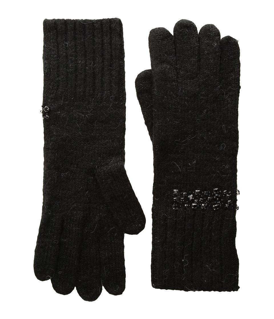 LAUREN Ralph Lauren Modern Jewel Glove (Black) Dress Gloves