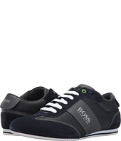 BOSS Hugo Boss - Lighter Low Coated Canvas Suede Sneaker by BOSS Green