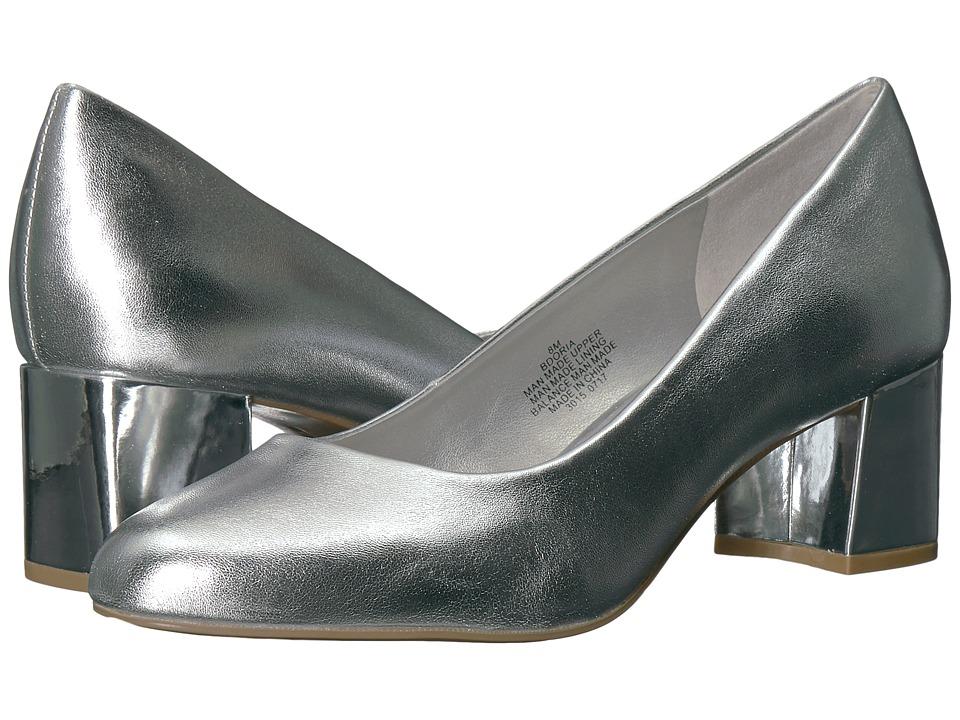 Bandolino Oria (Silver Metallic Nappa PU) Women