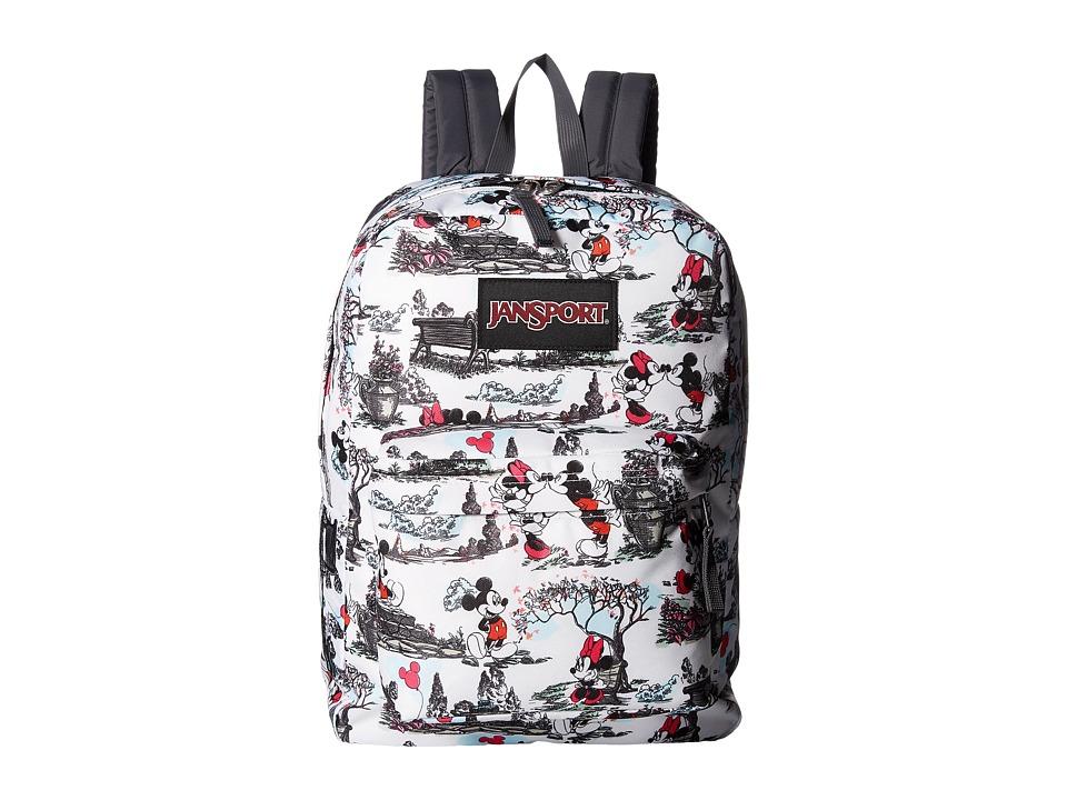 JanSport Disney SuperBreak (Day in the Park) Backpack Bags
