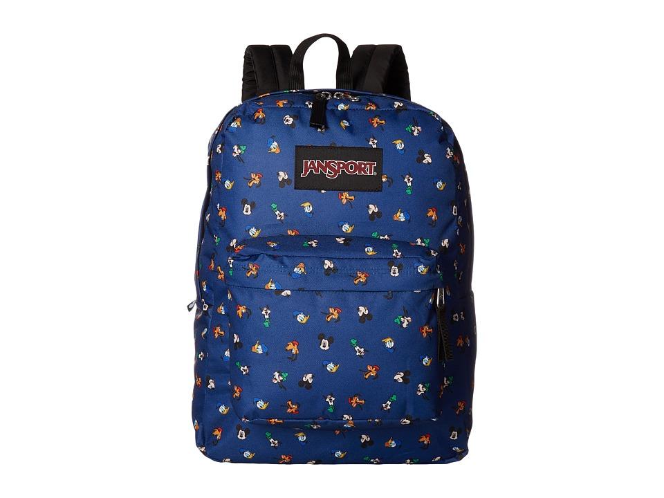 JanSport Disney SuperBreak (Gang Dot) Backpack Bags