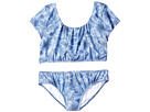 Seafolly Kids - Tropical Vacation Tie Back Tankini Top (Little Kids/Big Kids)