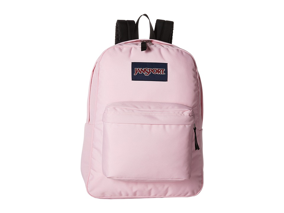 JANSPORT SuperBreak(r) (Pink Mist) Backpack Bags