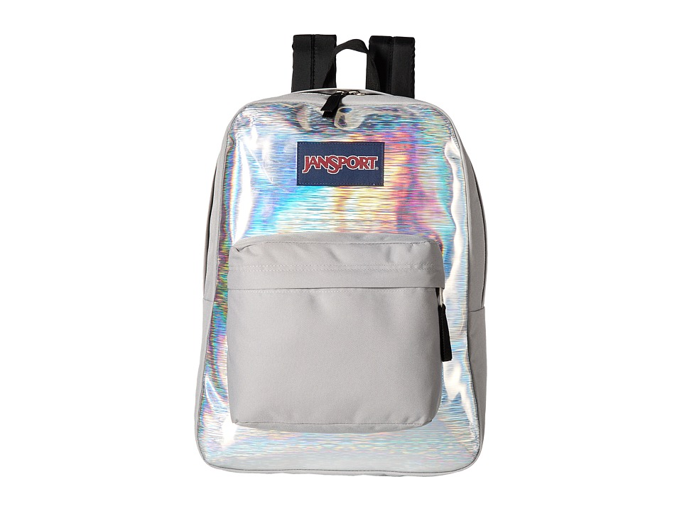 JanSport High Stakes (Silver Hologram) Backpack Bags