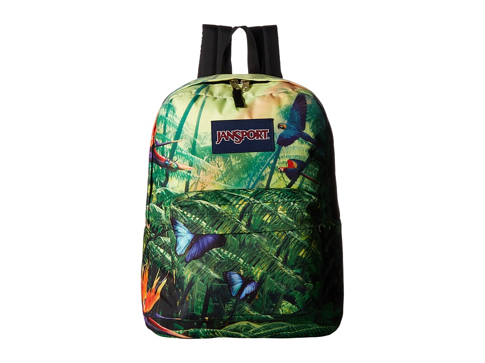JanSport High Stakes (Wild Jungle) Backpack Bags