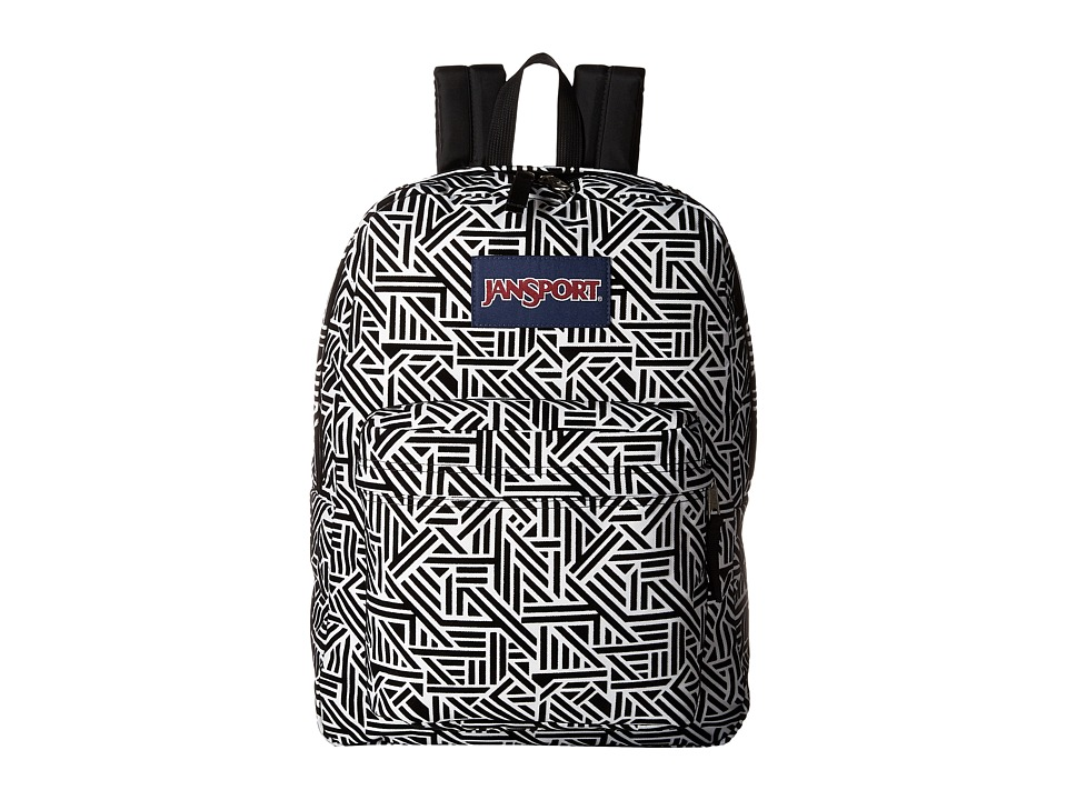 JanSport High Stakes (White Geo Flock) Backpack Bags