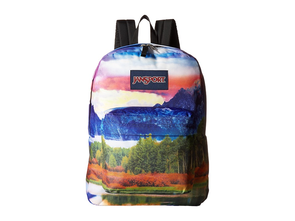 JanSport High Stakes (Tetons Sunset) Backpack Bags