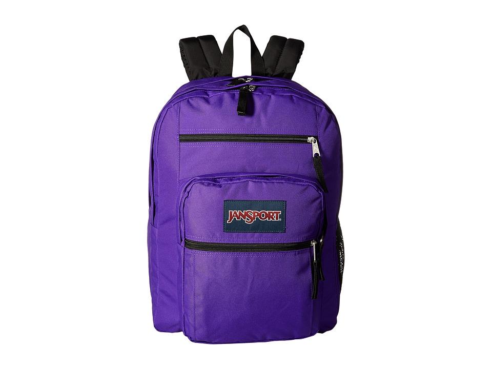 JANSPORT Big Student (Signature Purple) Backpack Bags