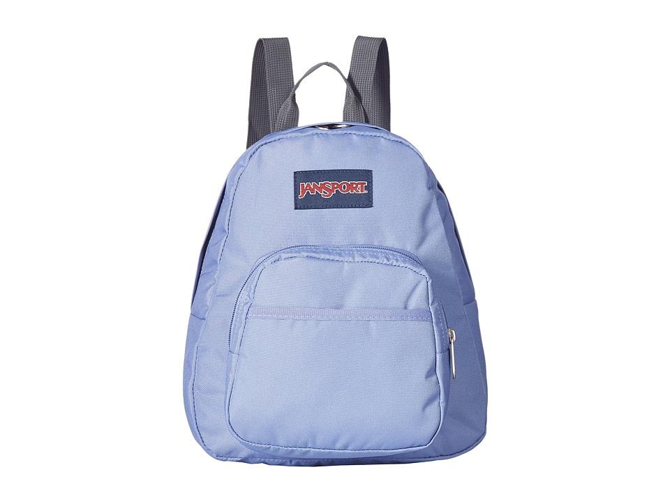 JANSPORT Half Pint (Bleached Denim) Backpack Bags