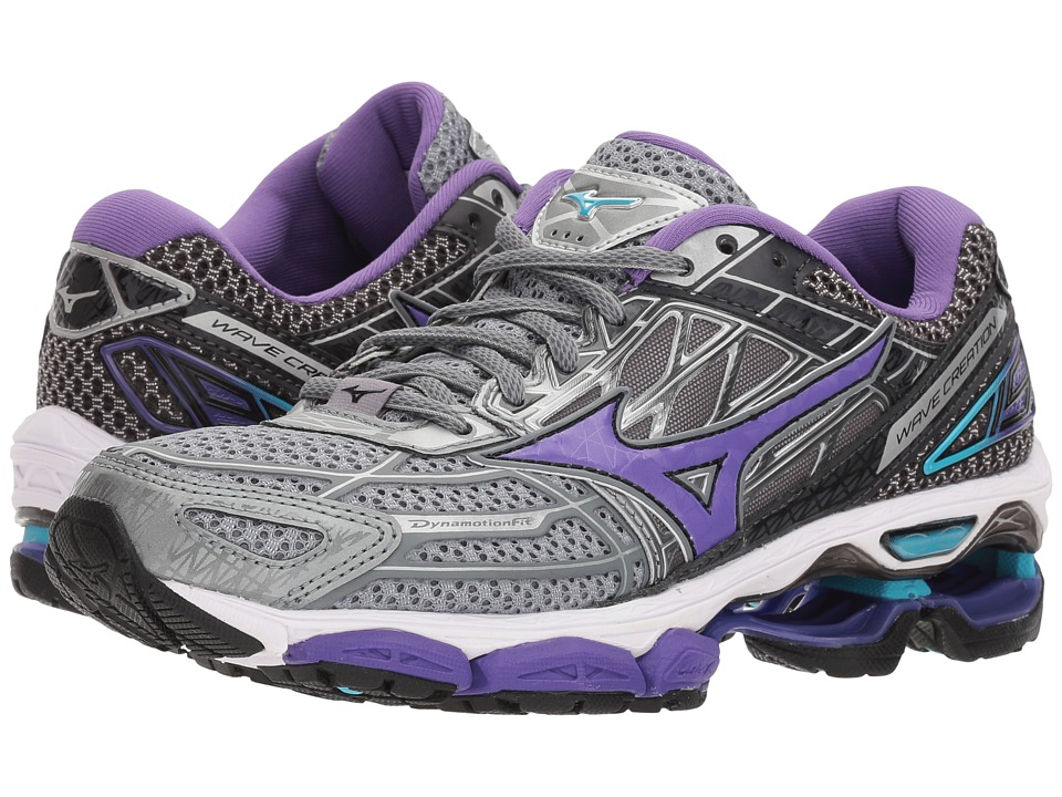 Mizuno Wave Creation 19 (Monument/Passion Flower) Women's Running Shoes