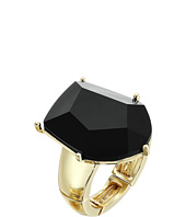 GUESS - Faceted Jet Stone Ring