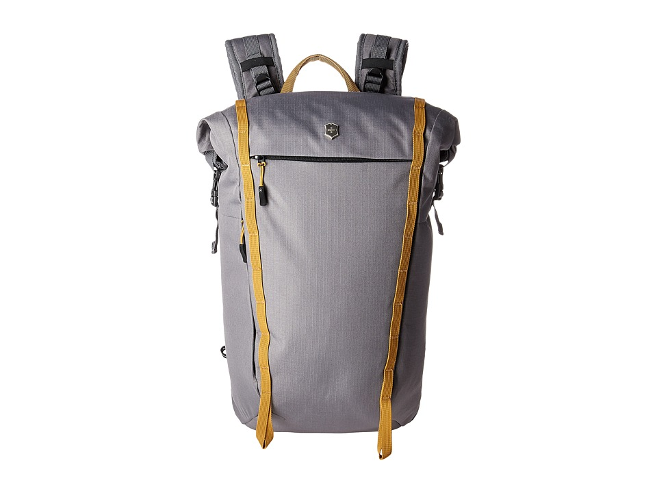 Victorinox - Altmont Active Rolltop Compact Laptop Backpack (Grey) Backpack Bags