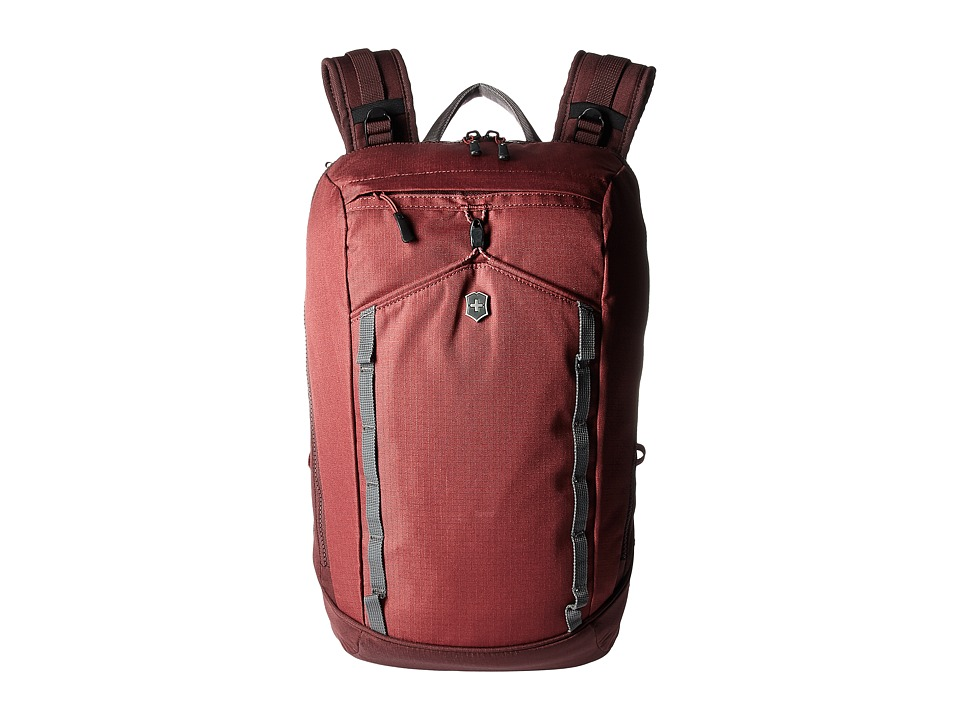 Victorinox - Altmont Active Compact Laptop Backpack (Burgundy) Backpack Bags