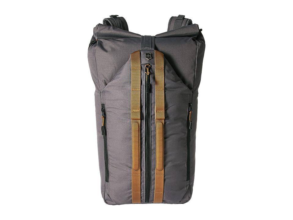 Victorinox - Altmont Active Deluxe Duffel Laptop Backpack (Grey) Backpack Bags