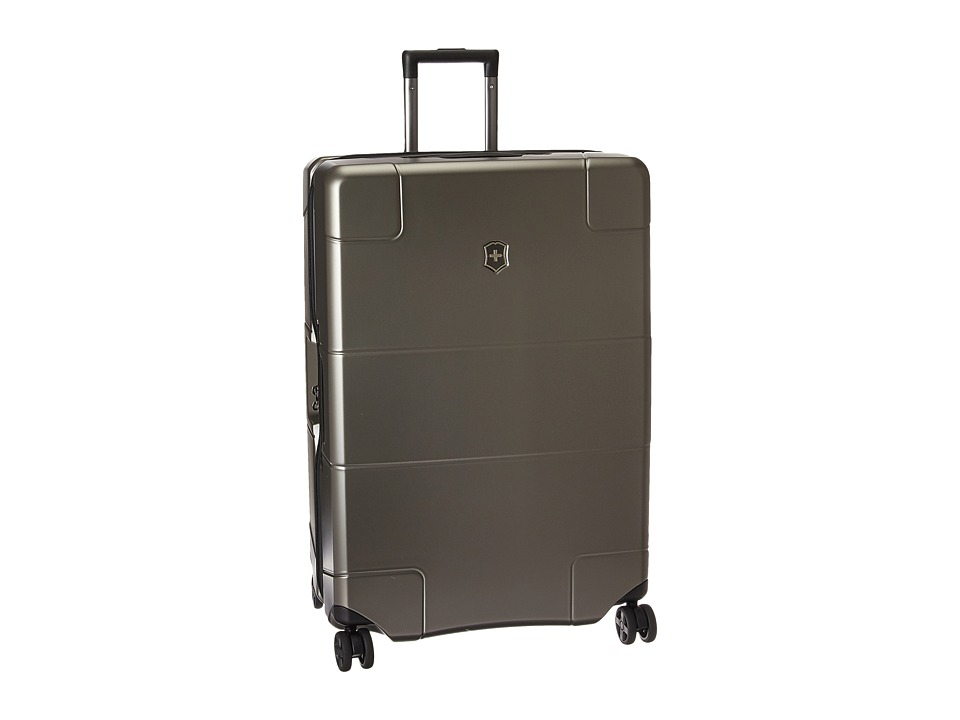 Victorinox Lexicon Hardside Large Travel Case (Titanium) ...
