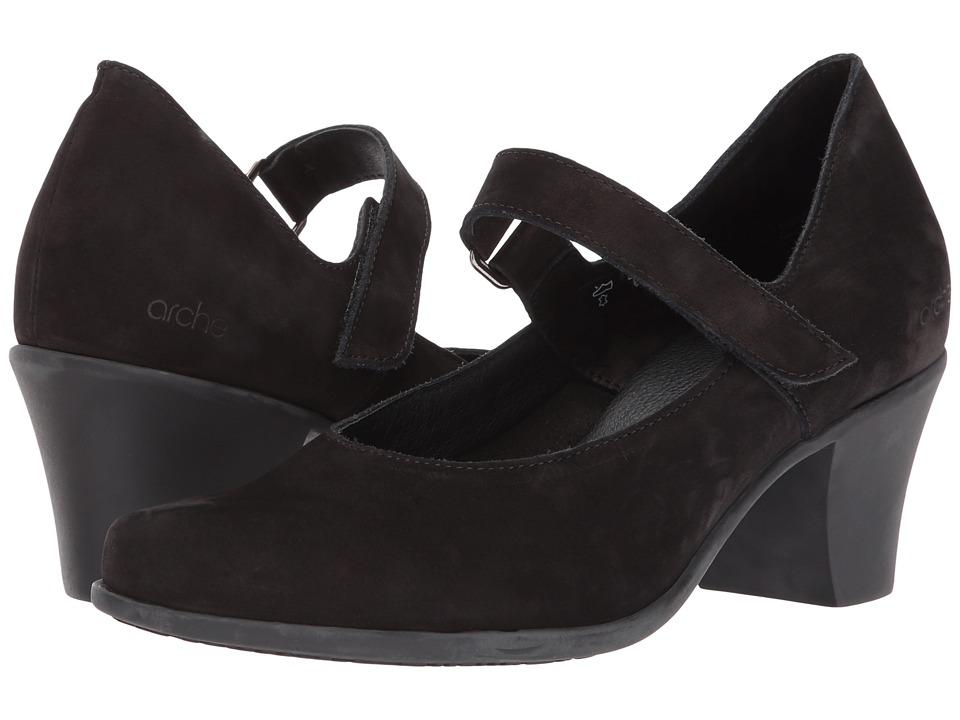Arche - Maora (Noir) Womens Shoes