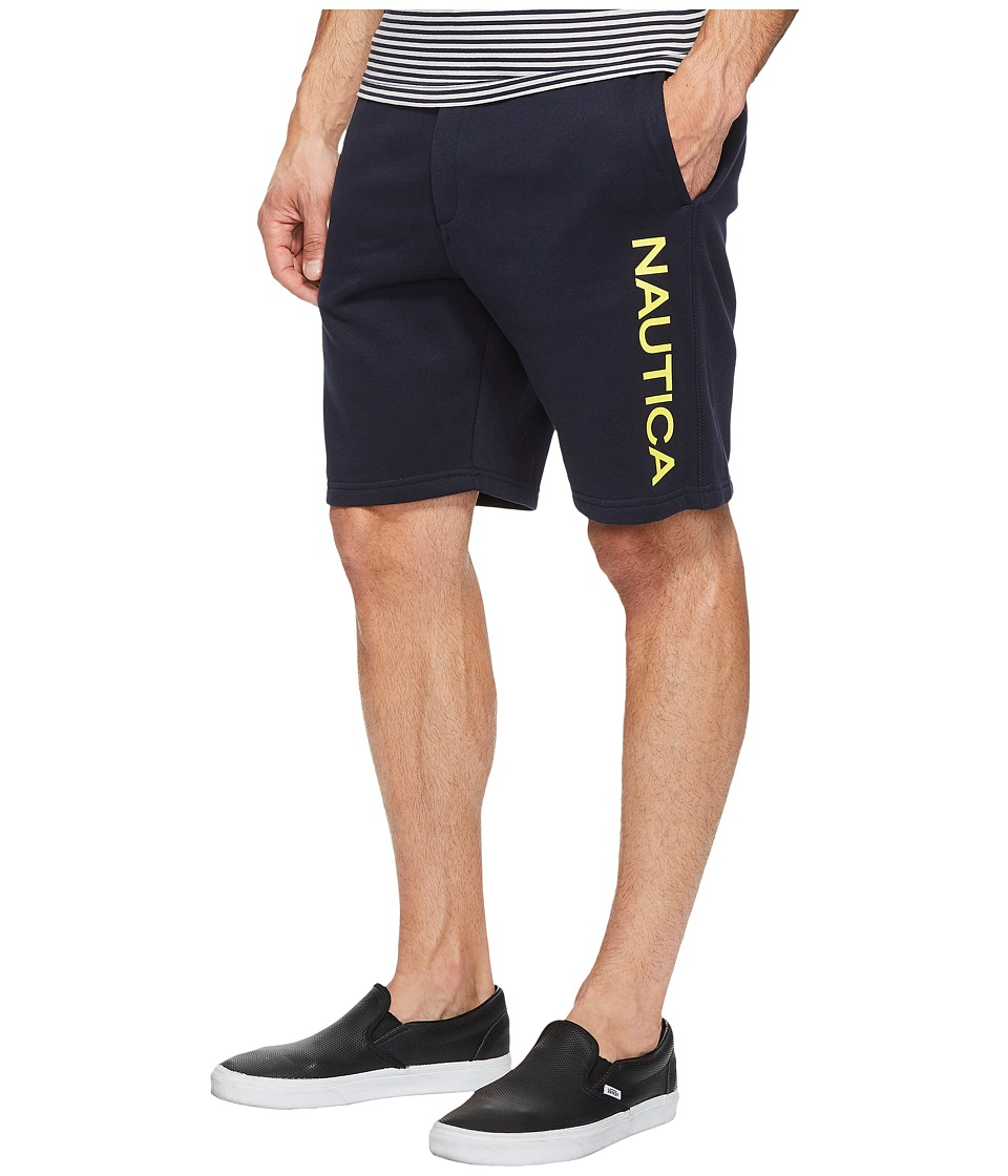 Nautica Logo Shorts (True Navy) Men
