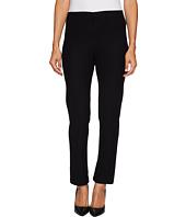Mod-o-doc - Stretch Knit Twill Forward Seam Ankle Length Pants