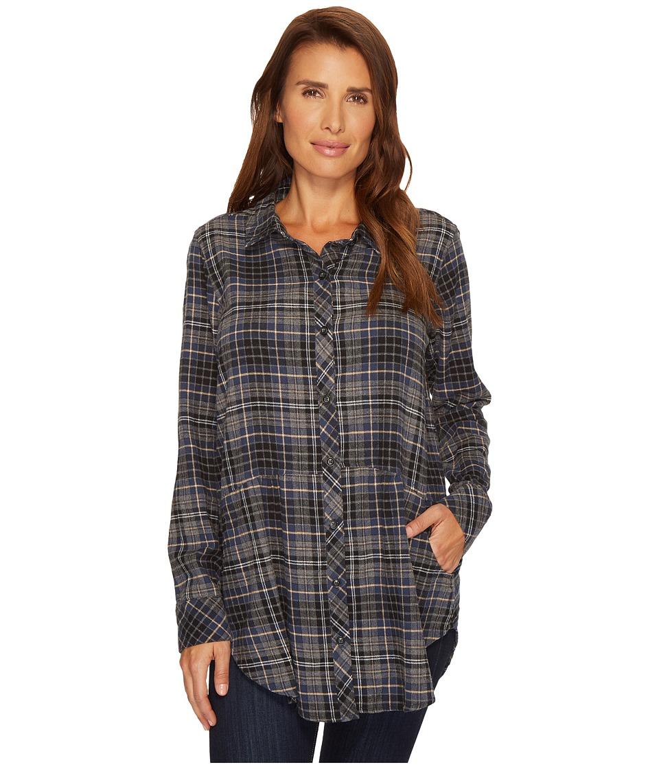 Etounes old navy classic flannel shirt for women size xl for Lightweight plaid shirt womens