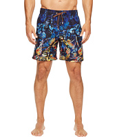 BUGATCHI - Tropical Paradise Swim Trunks