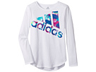 adidas Kids - Long Sleeve All Star Tee (Toddler/Little Kids)