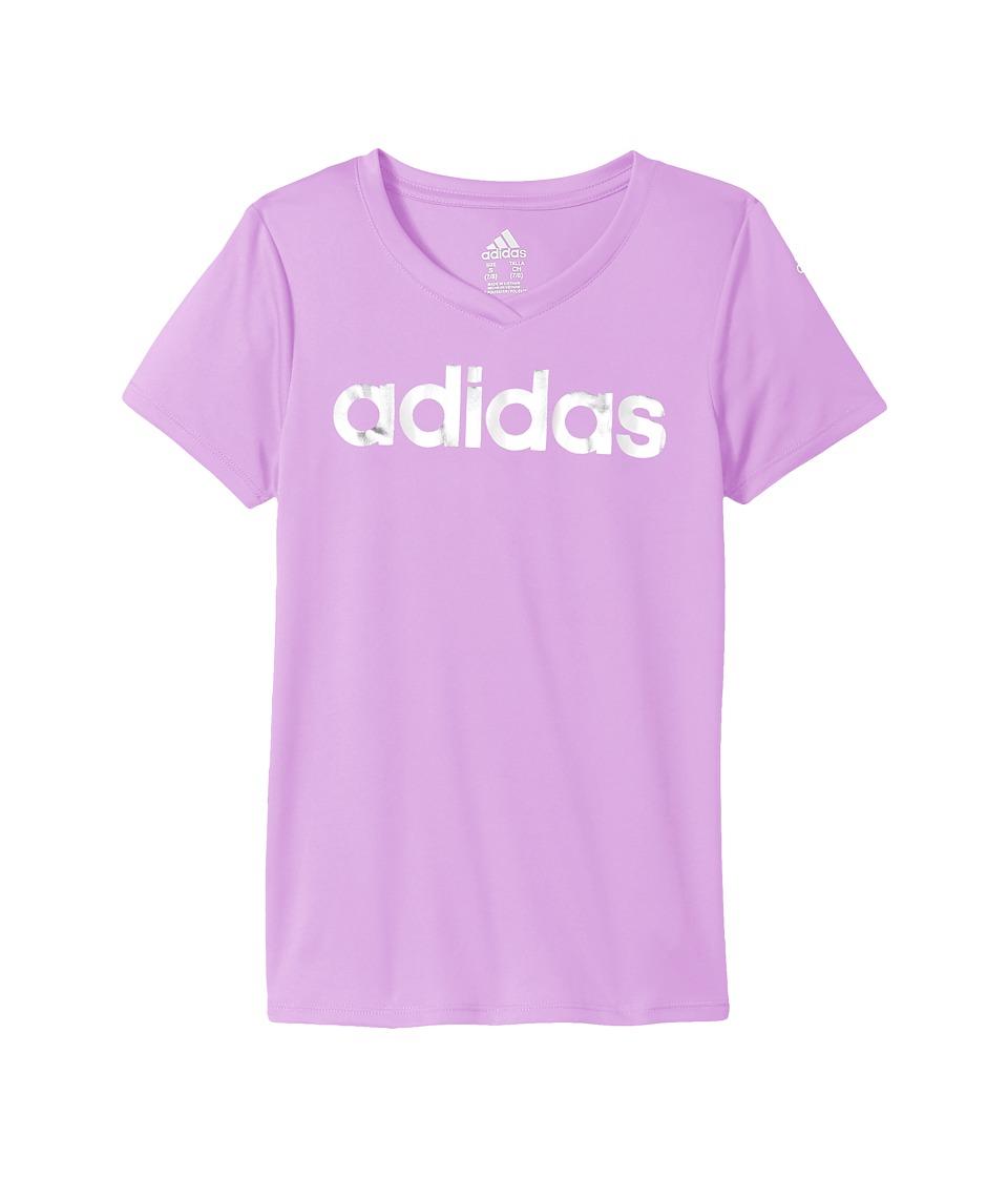 adidas Kids - Short Sleeve V-Neck Top